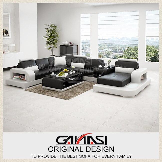 Sof de la esquina ganasi dise o muebles modernos for Disenos de muebles de sala