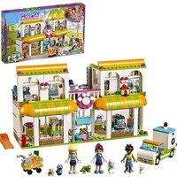 Friends the Heartlake City Pet Center compatible Legoinglys friends Pet Shop friends Creative Building blocks Toys
