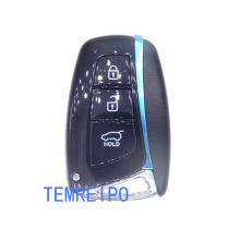 3 buttons keys for Hyundai smart key cover remote control key case Genesis 2013-2015 Santa Fe 2014-2015 Equus 2015 Azera