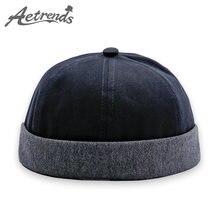 AETRENDS  2018 nuevo Retro marinero sombrero de Hip Hop Cap para las  mujeres hombres 6a74bca9519