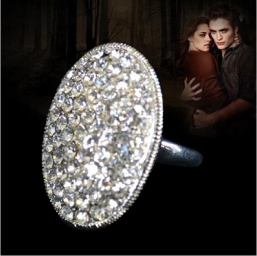 Размер 6-10 Ювелирные изделия классический Bella обручальное сумеречное Хрустальное Свадебное женское кольцо