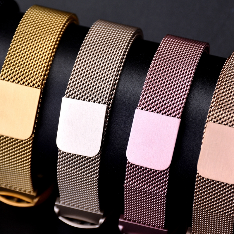 Milanese Loop Band For Xiaomi Mi Band 4 Strap Stainless Steel Link Bracelet Watch MiBand 4 Band 3 Magnetic Accessories Wristband