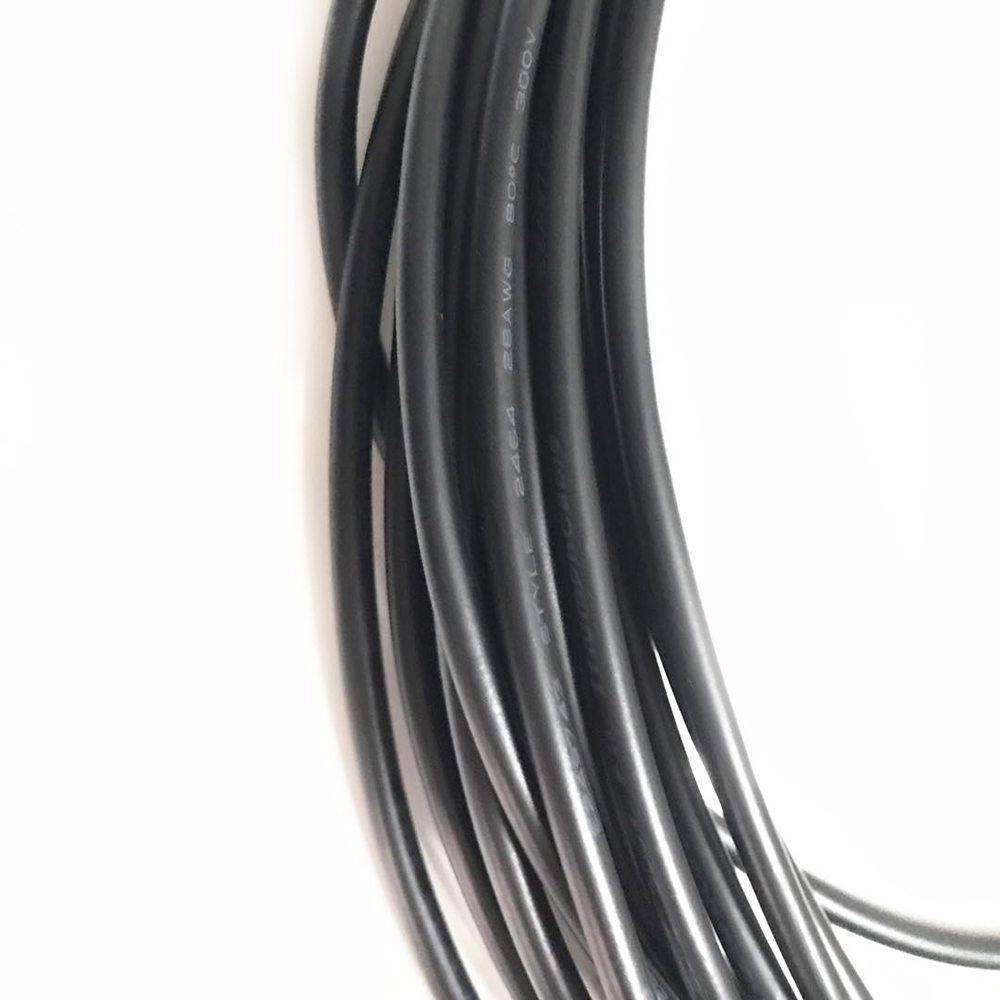 10meters Pvc Jacket Cable Ul2464 2c 3c 4c 5c 24awg Multi Core Tinned Metal Wiring Copper Wire Audio Signal Power In Wires Cables From Lights