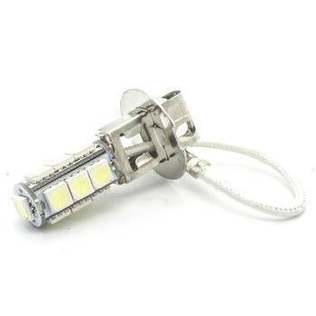 2 sztuk H3 PK22S 13 5050 żarówki LED SMD DC 12V biały przeciwmgielne światła światło samochodowe żarówki lampy tanie i dobre opinie Siweex 12 v Flood Light Sourcing White