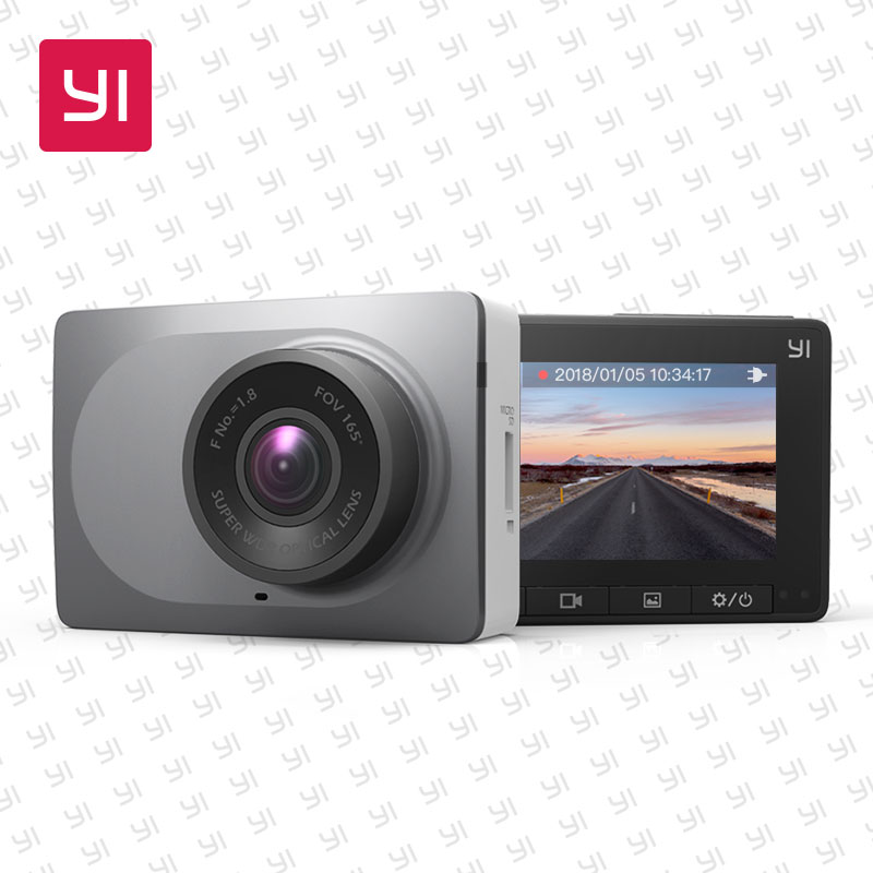 YI Smart Dash Camera Full HD Car DVR Cam Video Recorder WiFi Night Vision 1080P 2.7