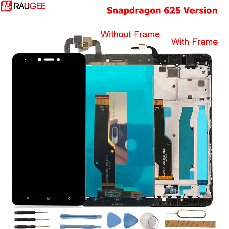 Xiaomi Redmi Note 4X LCD Display +Touch Screen New Digitizer Glass Panel For Xiaomi Redmi Note 4 Global Version Snapdragon 625