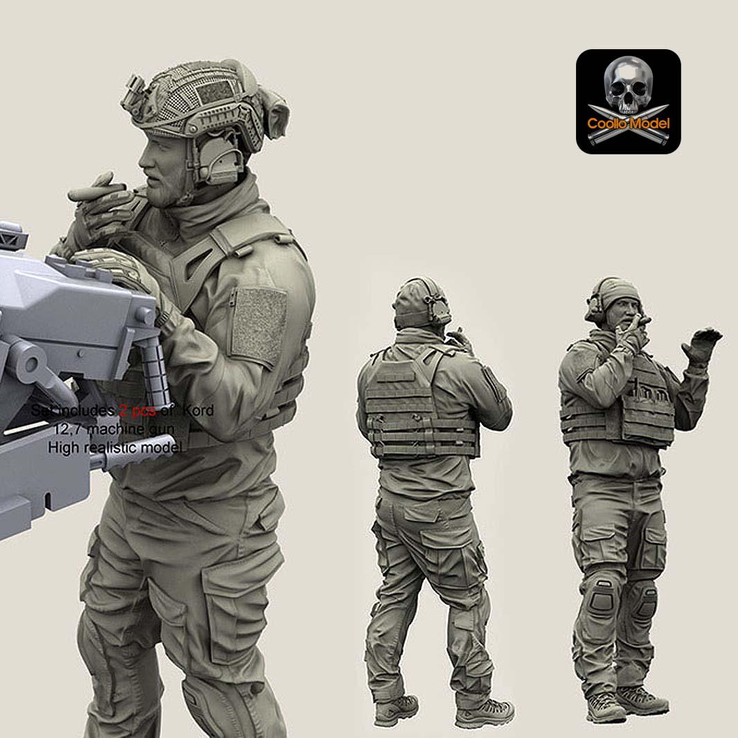 1/35 Resin Soldier YF-110 of U.S. Navy Seals ...