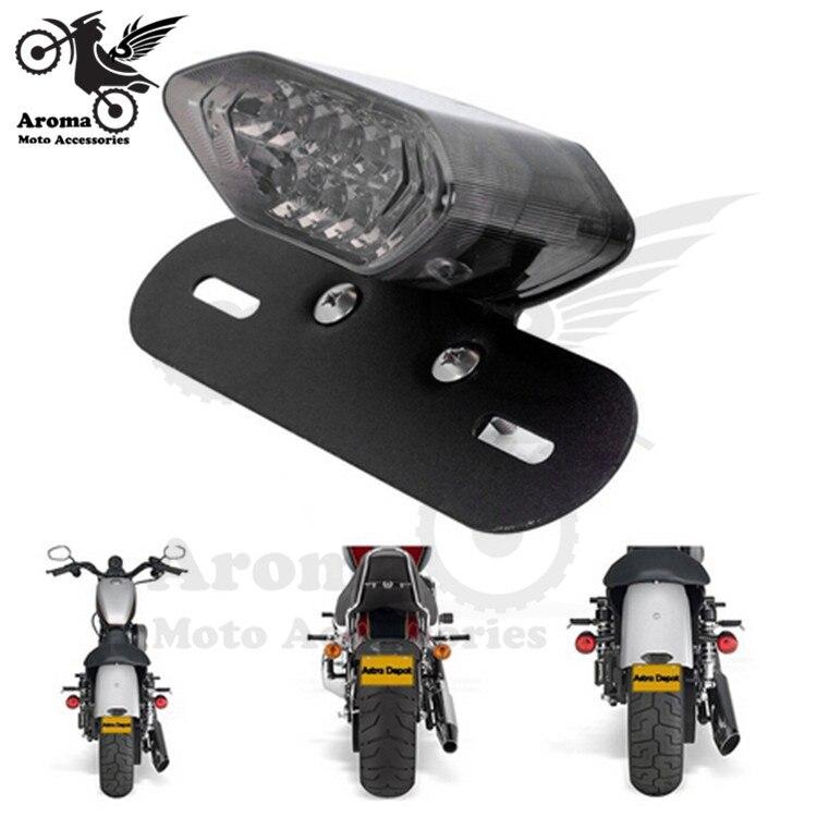 motorcycle rear turn signal light motorbike LED motocross brake light unviersal ATV Off-road blinker moto dirt pit bike scooter