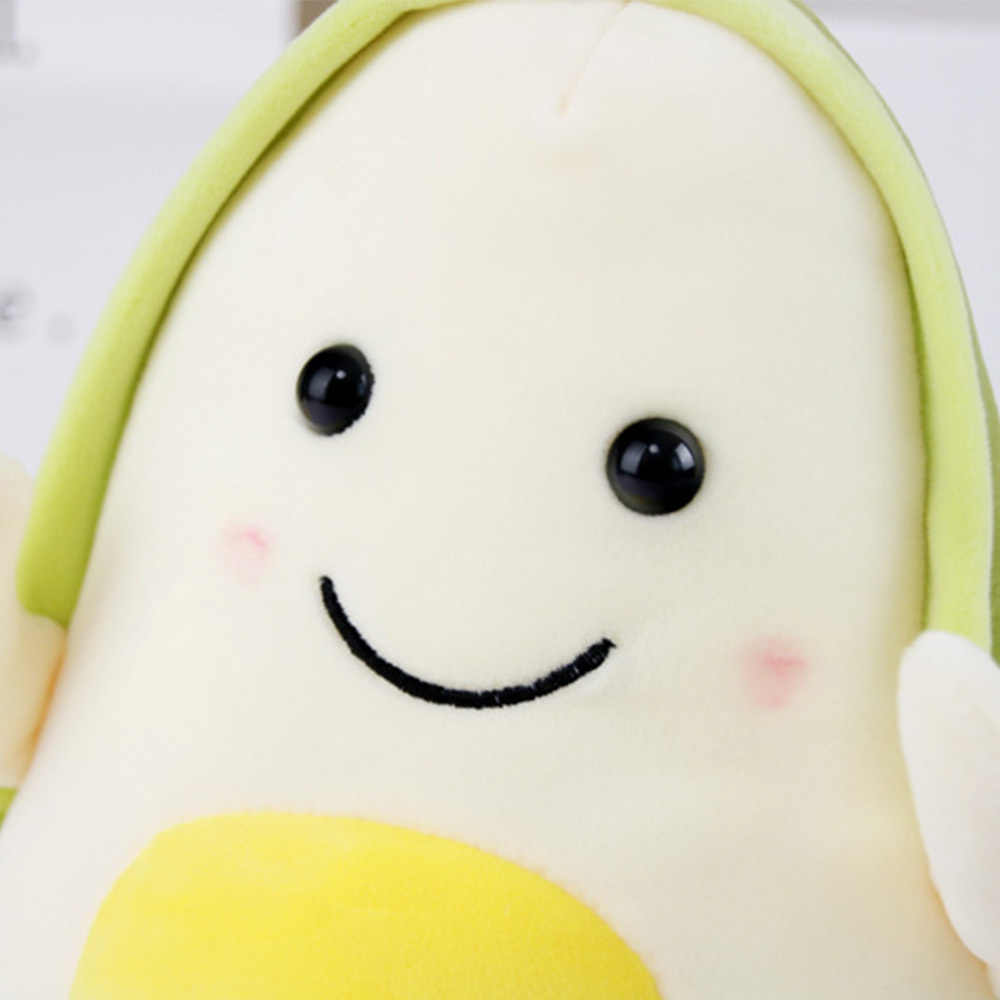 Frutas de peluche plantas de juguetes Kawaii de dibujos animados Linda muñeca de peluche aguacate cojín niños niñas Anti estrés cojín almohada para niños