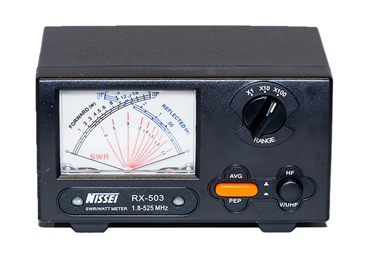 NISSEI RX-503 1.8-525Mhz short wave UV standing wave meter power meter SWR form RS503