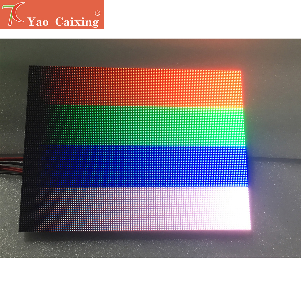 Yao Caixing RGB P1.6 Smd Indoor Led Matrix High Resolution Led Display Screen Module