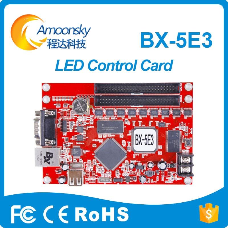 BX-5E3 (Ethernet + Seri + USB) Onbon asenkron kartBX-5E3 (Ethernet + Seri + USB) Onbon asenkron kart