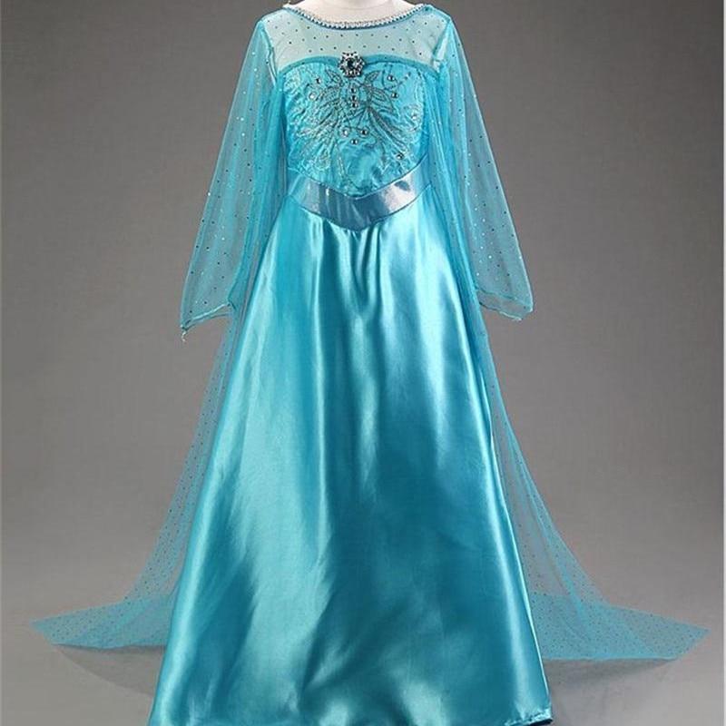 New Elsa Kleid Prinzessin Mädchen Kleider Kostüme für Kinder ...