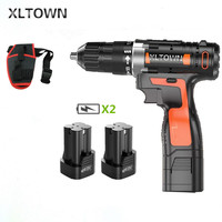 Xltown the new 16.8v Cordless Mini Electric Drill Multi energy lithium battery Rechargeable electric screwdriver power tools