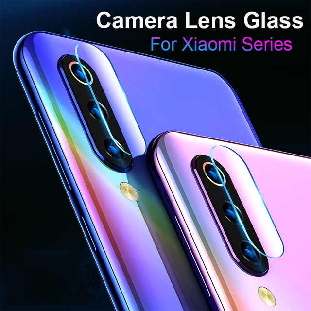 Lente de cámara de cristal templado para Xiaomi Mi A2 Lite A1 HD, película de protección transparente para Xiaomi Mi 9 8 SE Mi 8 Pro