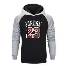 2019 Fashion Raglan Hoodies JORDAN 23 Letter Print Sweatshirt Hip Hop Men Sportswear Pullover Mens Tracksuit Sweatshirts Clothes