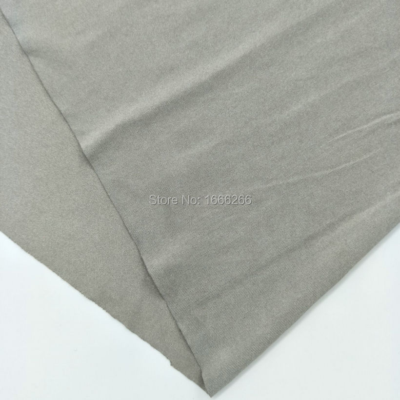 BLOCK EMF  4-Way-Stretch Silver Fabric Use For ClothingBLOCK EMF  4-Way-Stretch Silver Fabric Use For Clothing