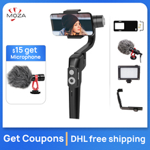 US $17.0 |In Stock MOZA Mini S 3 Axis Handheld Gimbal Stabilizer for iPhone Huawei p30pro PK MINI MI Vimble2 Osmo pocket phone stabilizer-in Handheld Gimbal from Consumer Electronics on Aliexpress.com | Alibaba Group