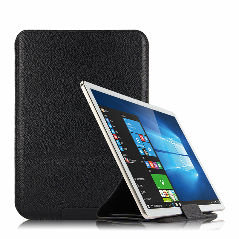 Case Cowhide Sleeve For CHUWI Hi9 Air 10.1 inch Tablet PC Protective Cover Genuine Leather hi9 air 10 Protector Pouch bag Case tempered glass for chuwi hi9 pro 8 4 inch tablet pc screen protector film for newest chuwi hi9 pro