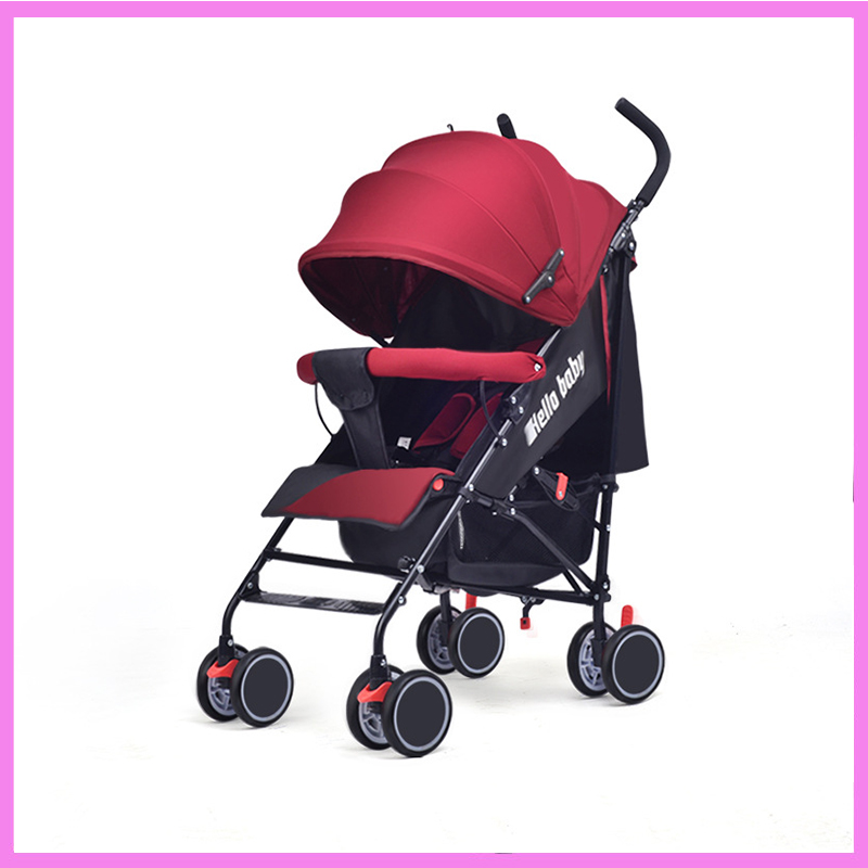Campbell baby stroller factory direct light folding baby stroller can sit and lie Che Baobao wholesale