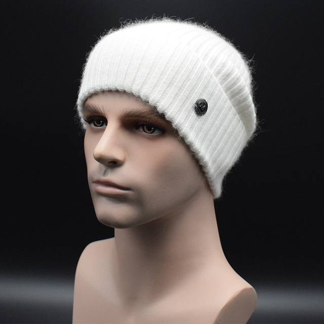 MIGEDE Brand Mew Wool Knitted men Winter hat Beanies Solid Color Hat men Warm Soft Beanie Cap casual bonnet Gorro Caps