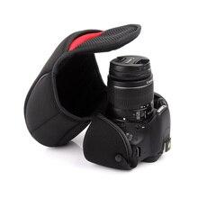 Universal Portable DSLR Camera Inner Soft Bag Case For Canon Sony Nikon