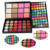 2016 Nova Cosméticos Eyeshadow Lip Gloss Make Up Palette 96 Color Eyeshadow Shimmer Blush Face Powder Makeup Set Kit