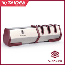 Taidea V-SAN Deluxe Küche Messerschärfer Professionelle Drei Stufen Diamant Hartmetall Messer Schleifwerkzeug TV1701 h5