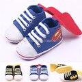 Criança primeira walkers Baby shoes das sapatilhas casuais macios filhos únicos sapatos bordados Superman batman Prewalker