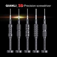 Возняк QIANLI первоклассная разборка 3D отвертка для iPhone samsung мобильный телефон Ремонт Отвертка Предотвращение скольжения