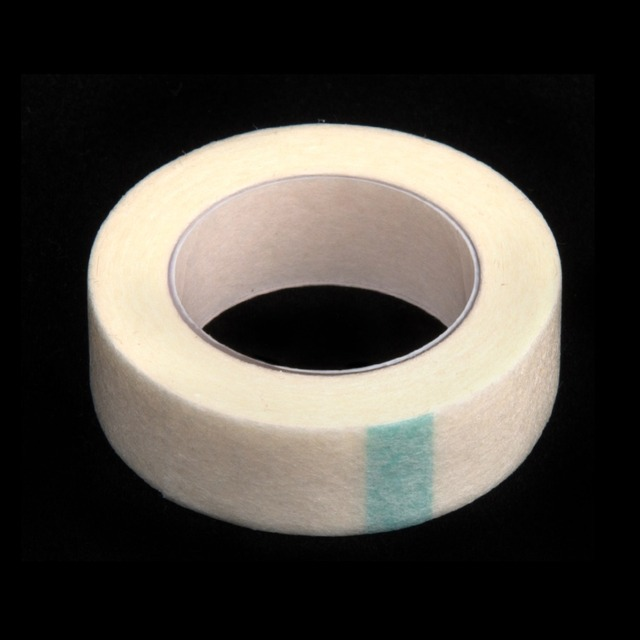 5pcs Eyelash Extension Lint Breathable Non-woven Cloth Adhesive Tape Medical Paper Tape For False Lashes Patch Makeup Tools 2