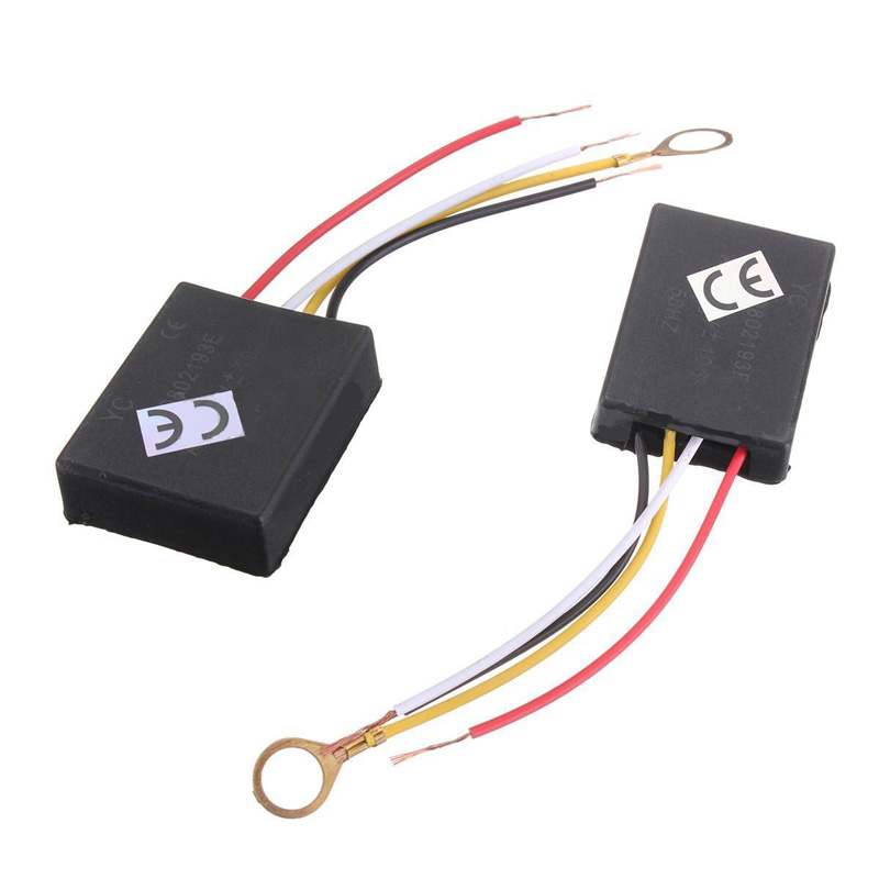 Mayitr 2pcs AC 100-240V 3 Way Touch Sensor Switch Desk light Parts Touch Control Sensor Dimmer For Bulbs Lamp Switch photoelectric switch sensor square reflex light barrier sensor photoelectric switch ac 90 250v mayitr