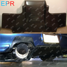 For Nissan Skyline R33 Carbon Fiber Top Secret Rear Diffuser w/ Metal Fitting Accessories Body Kit Auto Tuning Part GTR