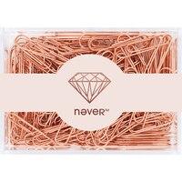 Розовое золото 200 шт./28 мм 70 шт./50 мм розовое золото скрепки металлические скрепки Продвижение цена на Большая распродажа сейчас