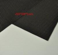 250*500*1mm Carbon Fiber Plate Panel Sheet 3K Plain Weave