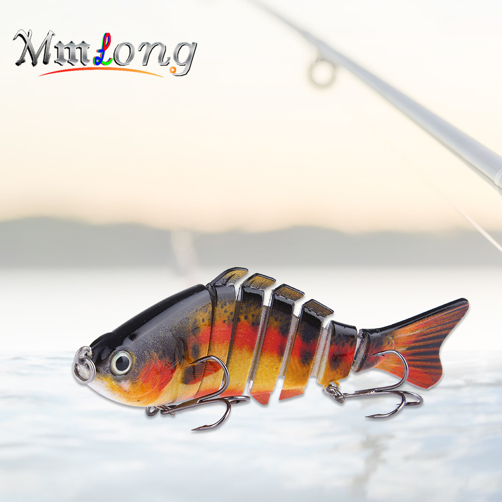 Mmlong 10cm Fishing Wobblers Hard Fishing Bait AL01 12.5g Jointed Swimbait Tackle Crankbaits Artificial Lures fish articulado ootdty 57mm bass fishing lures crank bait tackle swim bait fishing hard fish lure apr20 17