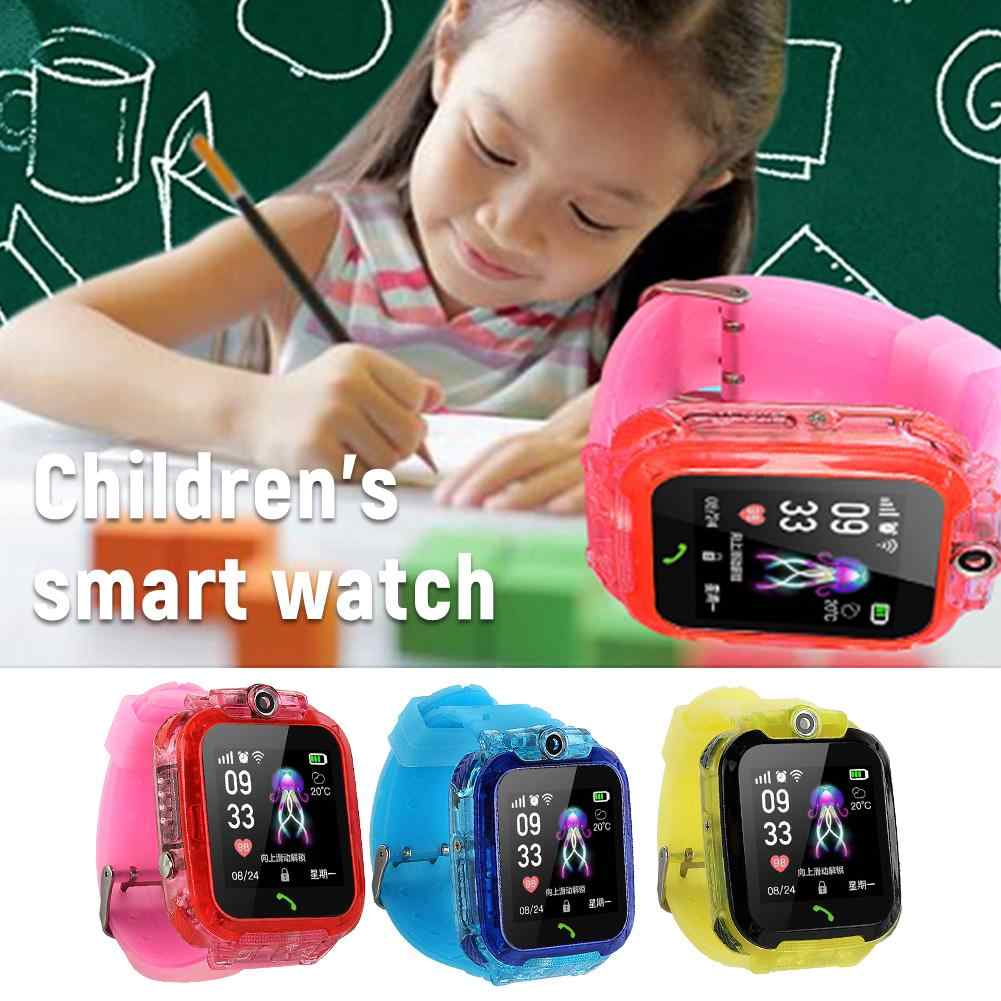 S12 Kids Phone Smartwatch With HD Screen IP67 Waterproof GPS One-click SOS Clock Video Chat Touch Screen Cool Toys Smart Watch