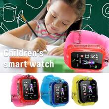 S12 teléfono inteligente para niños con pantalla HD IP67 impermeable GPS un clic SOS reloj Video Chat pantalla táctil Cool juguetes reloj inteligente(China)
