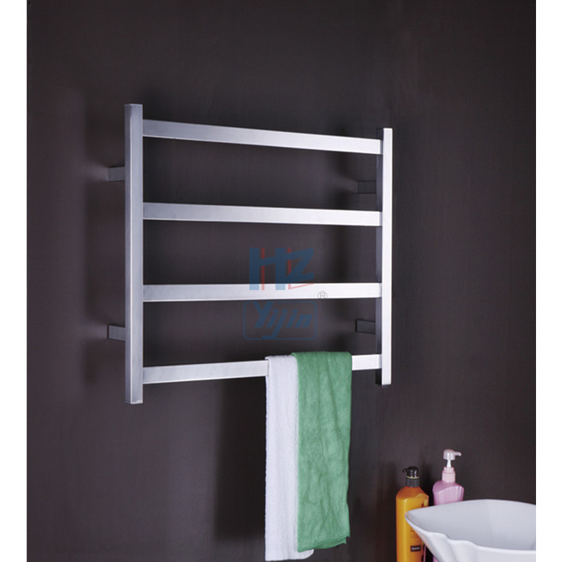 304# Stainless Steel Heated Towel Rail Electric Towel Warmer For Bathroom TW-RT1