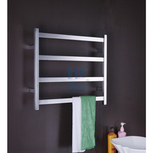 304# Stainless Steel Heated Towel Rail Electric Warmer TW-RT1