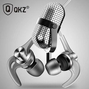 Image 5 - QKZ auriculares metálicos EQ1 con micrófono, para teléfono Xiaomi