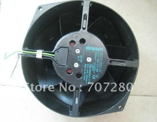 Original EBM Papst 15cm W2S130-AA57-A7 15055 277V 50Hz 0.3A 50W Motor Cooling Fan ebm papst 4800z 4800 z ac 115v 0 16a 0 14a 13w 12w 120x120x38mm server square fan