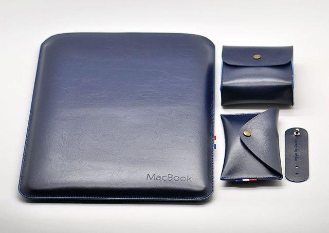 Новое прибытие продажи ультра-тонкий супер тонкий рукав чехол, микрофибра кожа laptop sleeve для MacBook Air/Pro 11 12 13