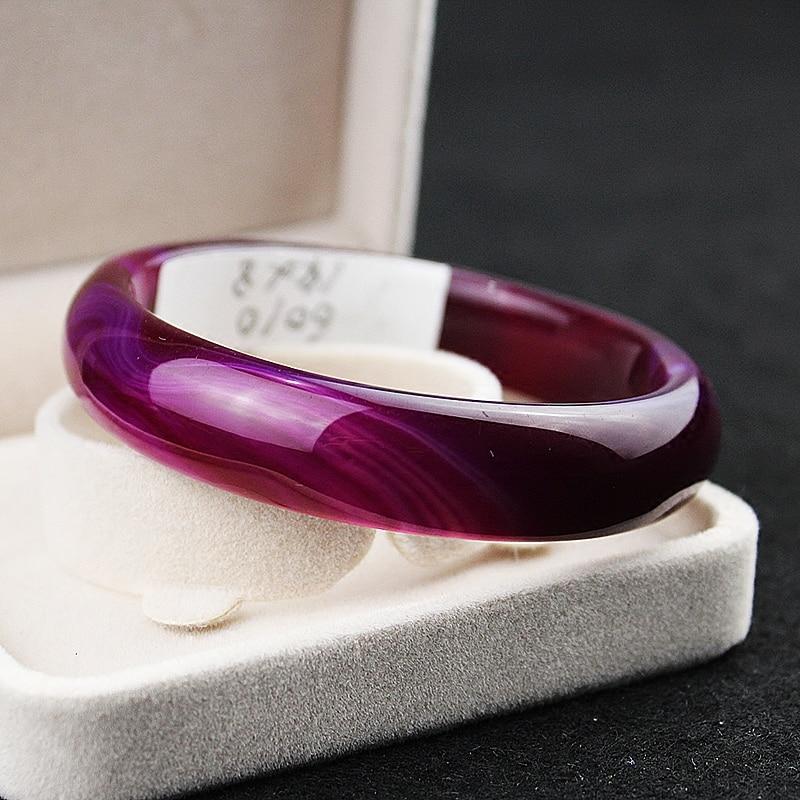 Natural Genuine Onyx Bracelet female jadeite bracelets purple chalcedony crystal bracelet sub jewelry special offer LeBron dynacord dynacord sub 1 18