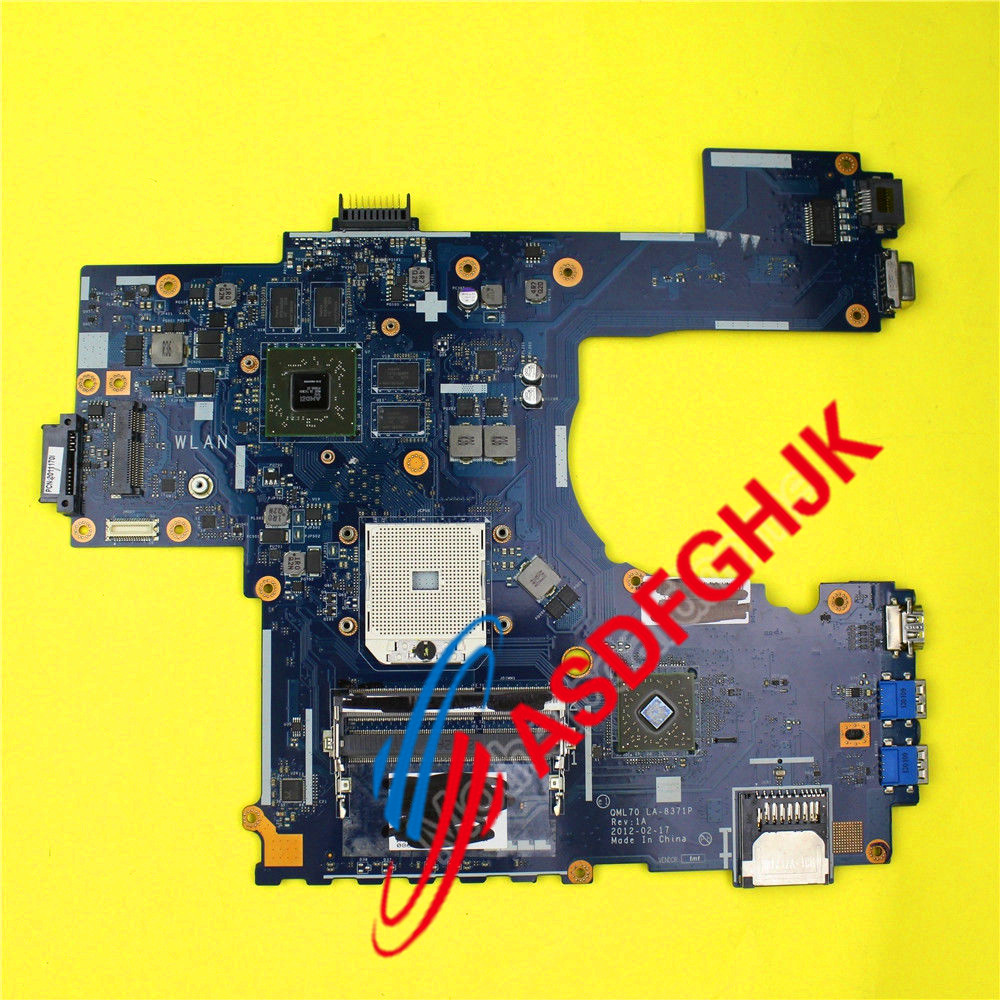 FOR ASUS K73T X73T K73TA K73TK Latop motherboard QBL70 LA-7553P Mainboard k73ta for asus k73t x73t k73ta k73tk r73t latop motherboard rev 1a qbl70 la 7553p hd7670m 1gb mainboard 100% tested ok