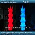 Party decoration LED light Inflatable tree LED lighting Inflatable bamboo shoot decorative Inflatable pillar flower