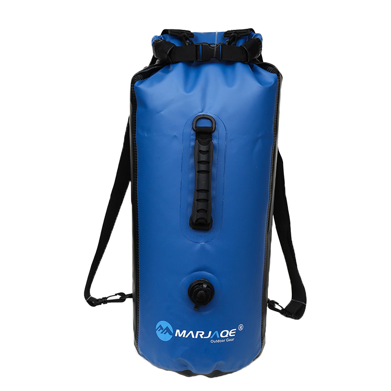 30L Waterproof Backpack Dry Bag Swimming Bag Outdoor Mountaineering Dry Large Capacity Storage Outdoor Sports Bag Travel Set