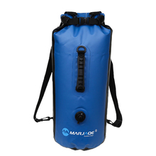 цена на 30L Waterproof Backpack Dry Bag Swimming Bag Outdoor Mountaineering Dry Large Capacity Storage Outdoor Sports Bag Travel Set