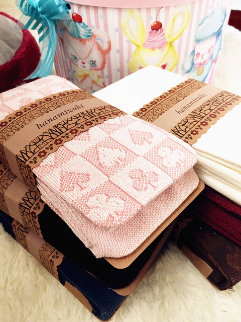 Princess sweet lolita Japanese soft  winter cotton knitting Poker jacquard pantyhose bk01
