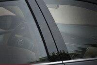 6 pcs abs para Corolla 2014-2017 janela Do Carro coluna Central Espelho Adesivo B C coluna adesivos decorativos